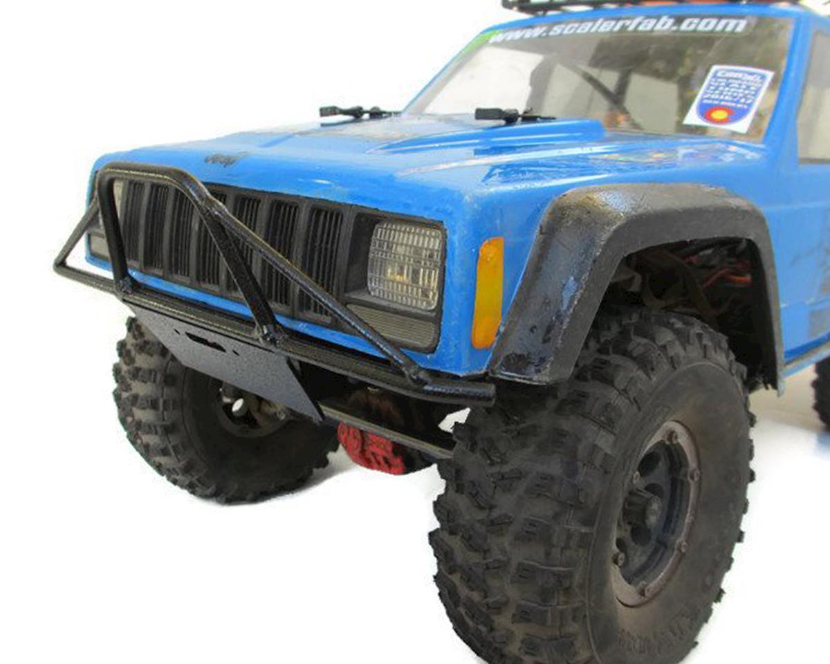 SCX10/SCX10 II Prerunner Front Bumper w/Shackle & Fairlead by ScalerFab