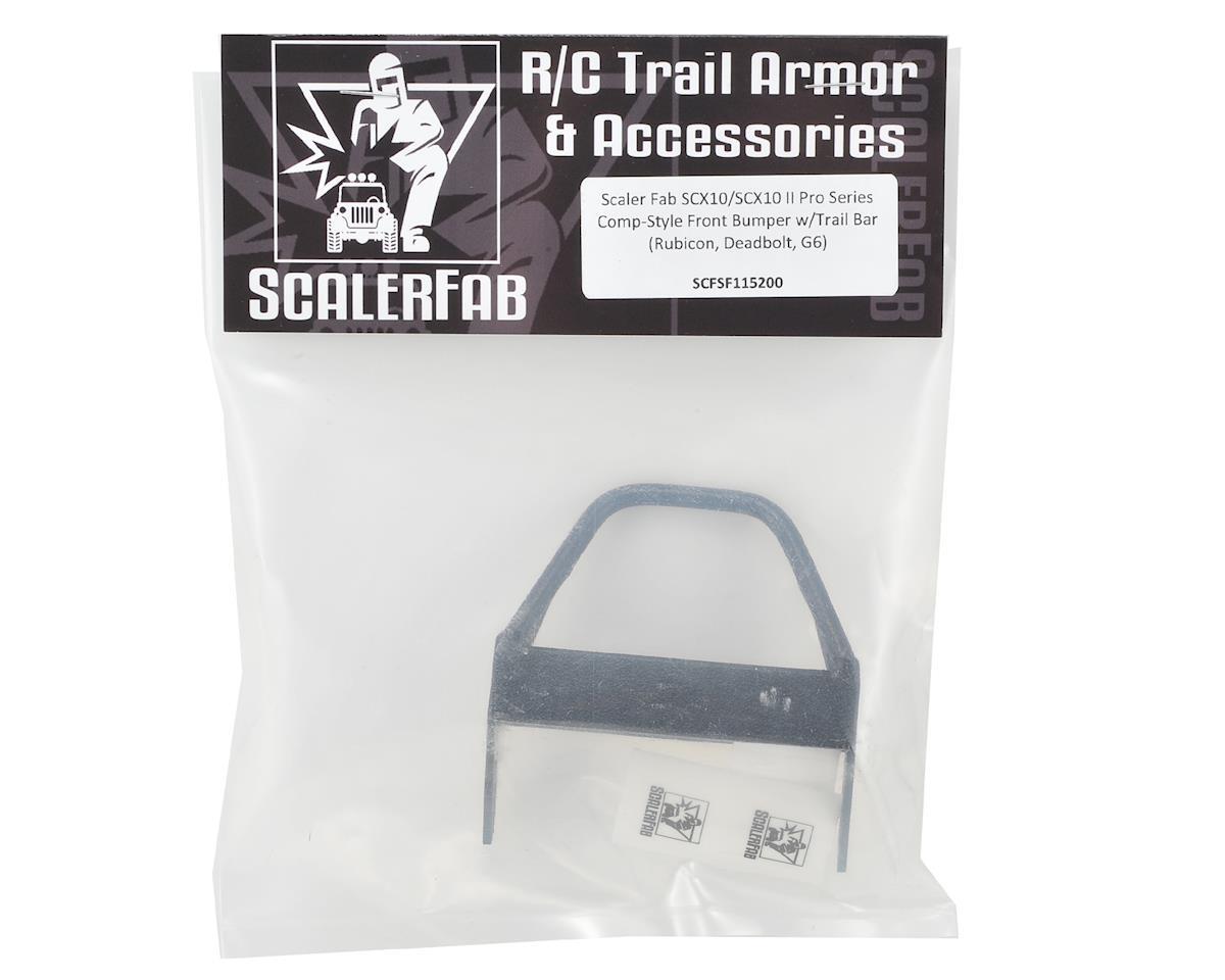 ScalerFab SCX10/SCX10 II Pro Series Comp-Style Front Bumper w/Trail Bar