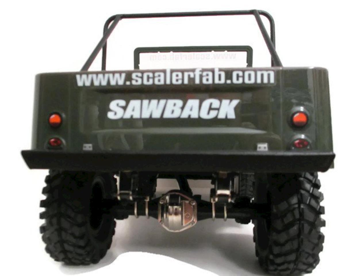 ScalerFab G-Made Sawback Rear Bumper