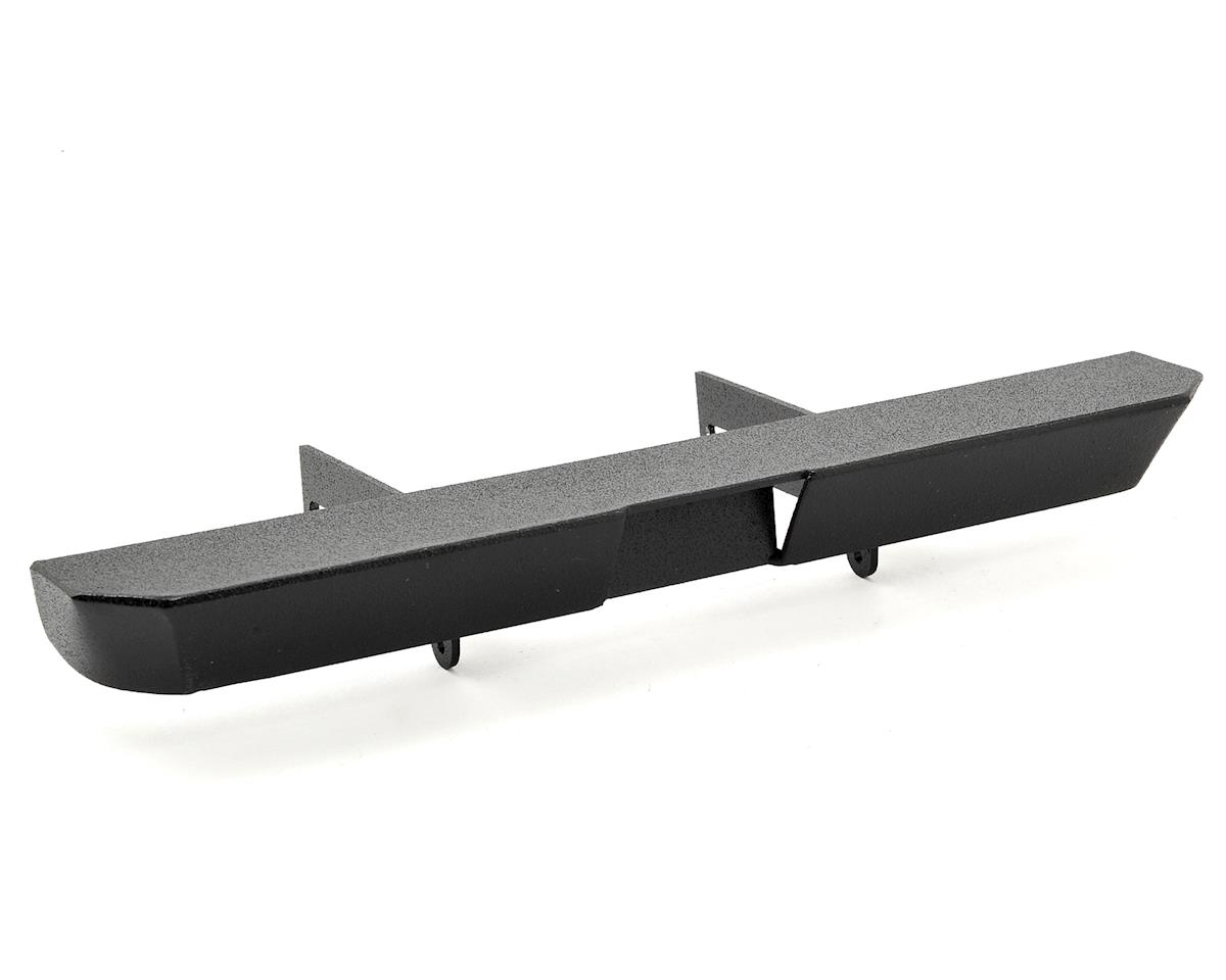 ScalerFab SCX10/SCX10 II Rear Bumper w/Shackle Mounts & License Plate Recess