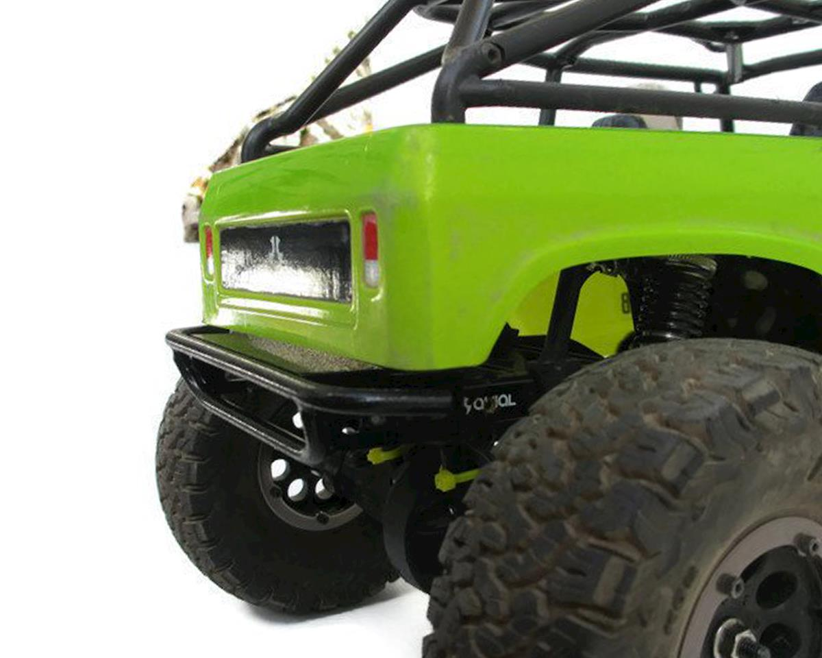 ScalerFab SCX10/SCX10 II Prerunner Rear Bumper w/Shackle Mount & Plate