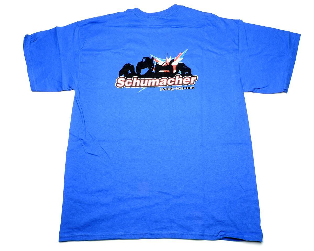 Schumacher Blue T-Shirt (XX-Large)
