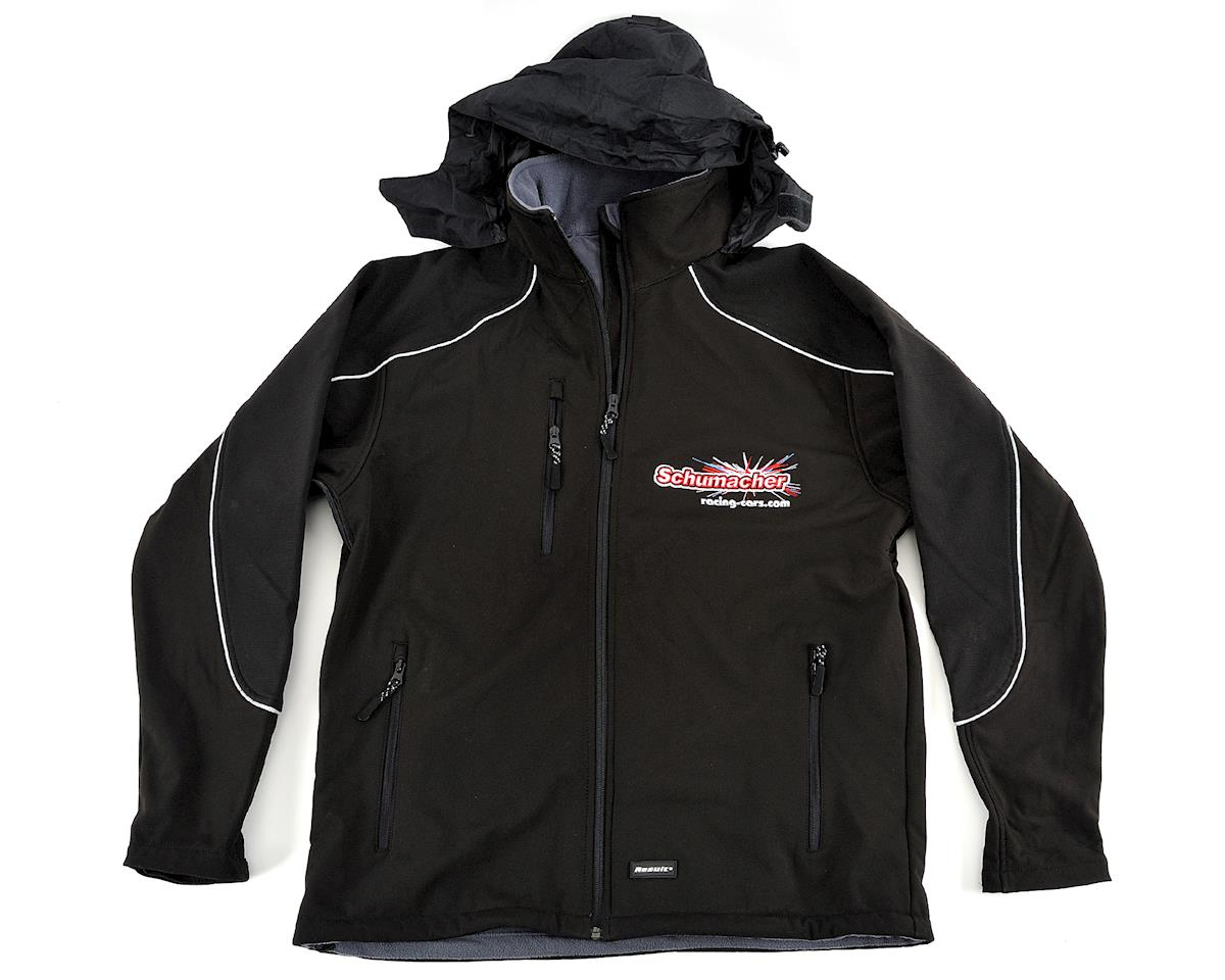 Schumacher Black 3 Layer Softshell Jacket (XL)