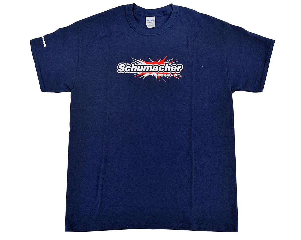Schumacher T-Shirt (Navy Blue) (XL)