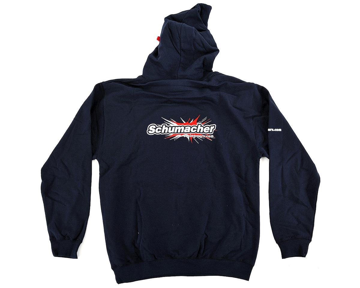 Schumacher Hooded Sweatshirt (Navy Blue) (L)