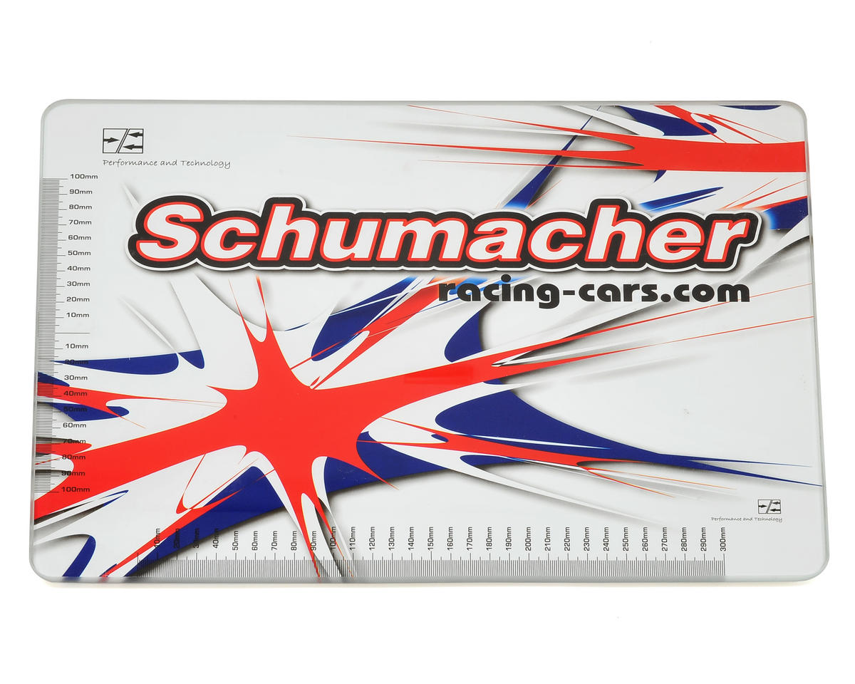 Schumacher CAT K1 Aero 6mm Glass Set Up Board (40x30cm)