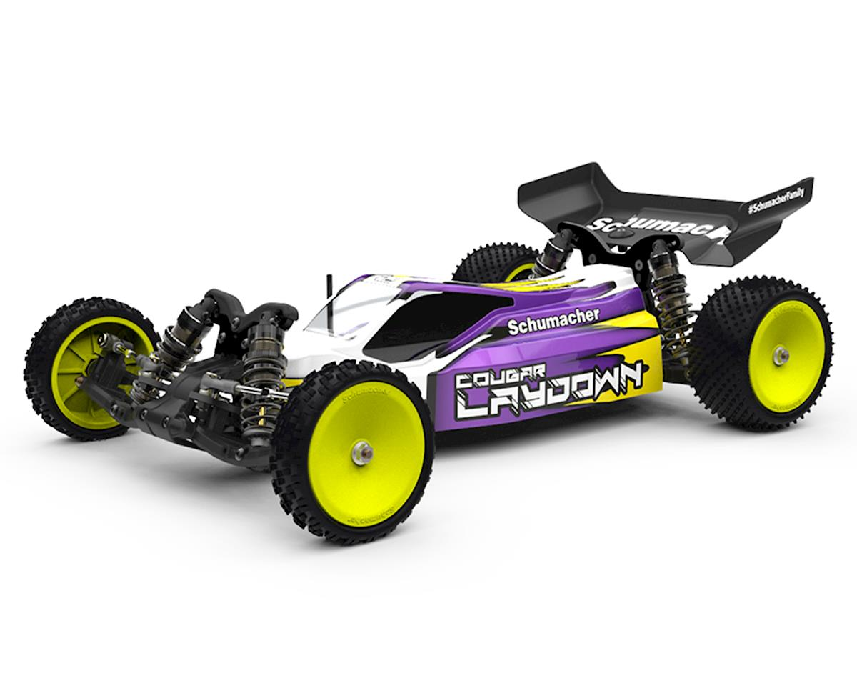 Schumacher Cougar Laydown 2WD 1/10th Off-Road Competition Buggy Kit | relatedproducts