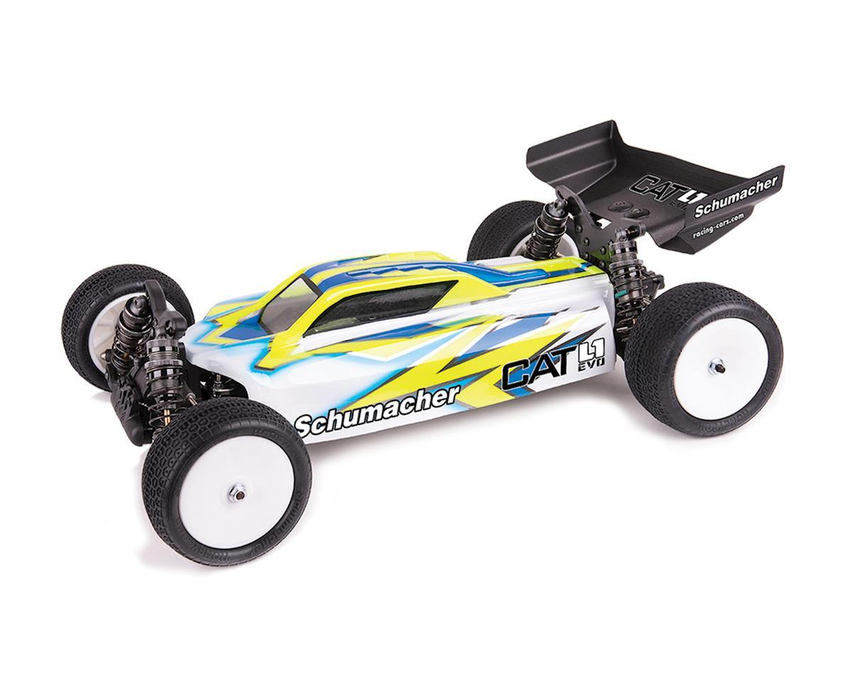 Black 2 SCHU4660 Schumacher 12mm 1//10 2WD Buggy Slim Front Hex Wheels