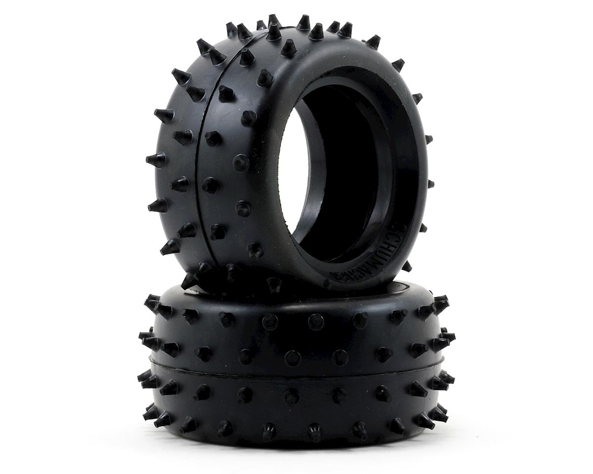 """Full Spike"" 1/10 Buggy Rear Tires (2) (Soft) by Schumacher"