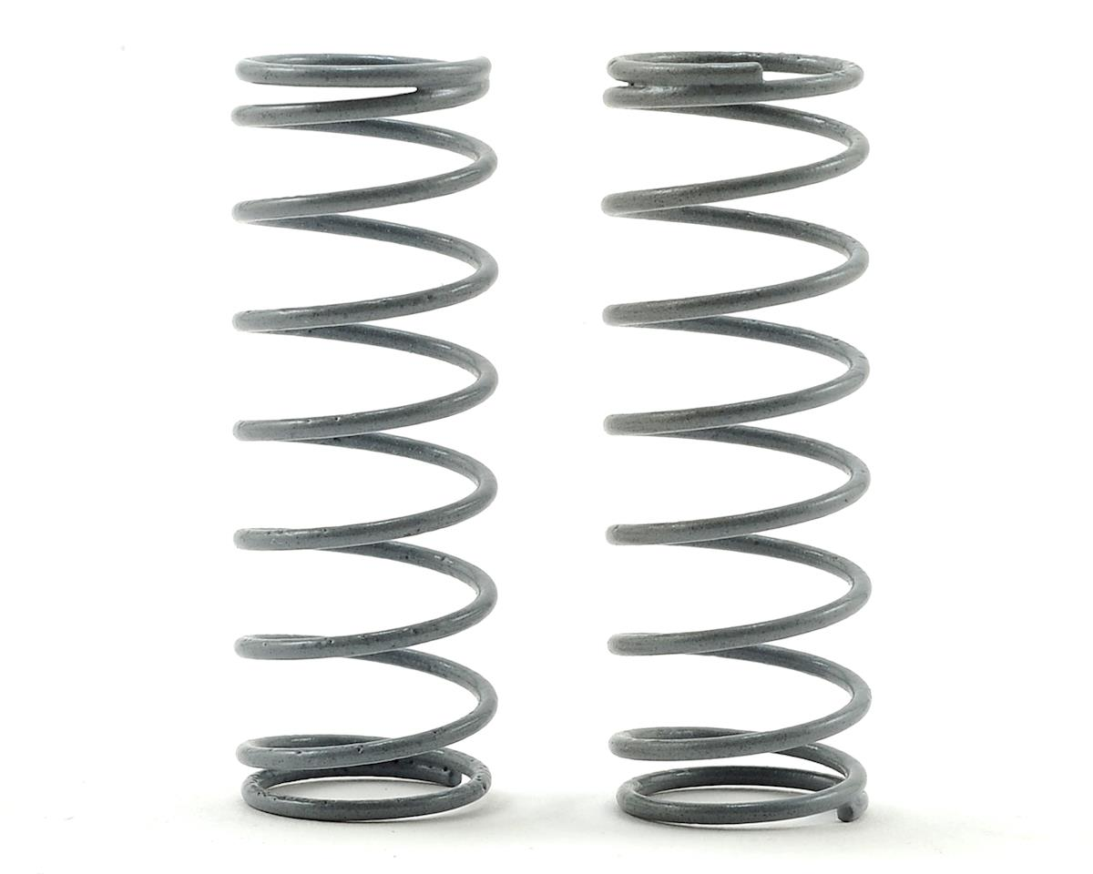 CAT XLS Front Shock Spring (2) (Grey - Short 3lb) by Schumacher