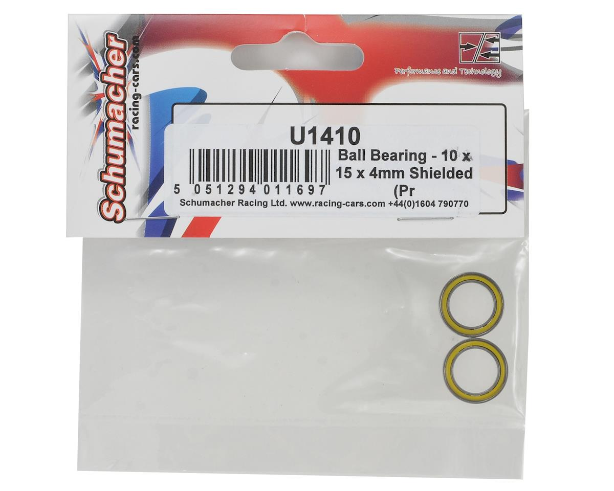 Schumacher 10x15x4mm Ball Bearing Set (2)