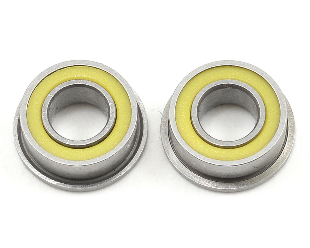Schumacher Mi1 4x8x3mm Flanged Ball Bearing Set (2)