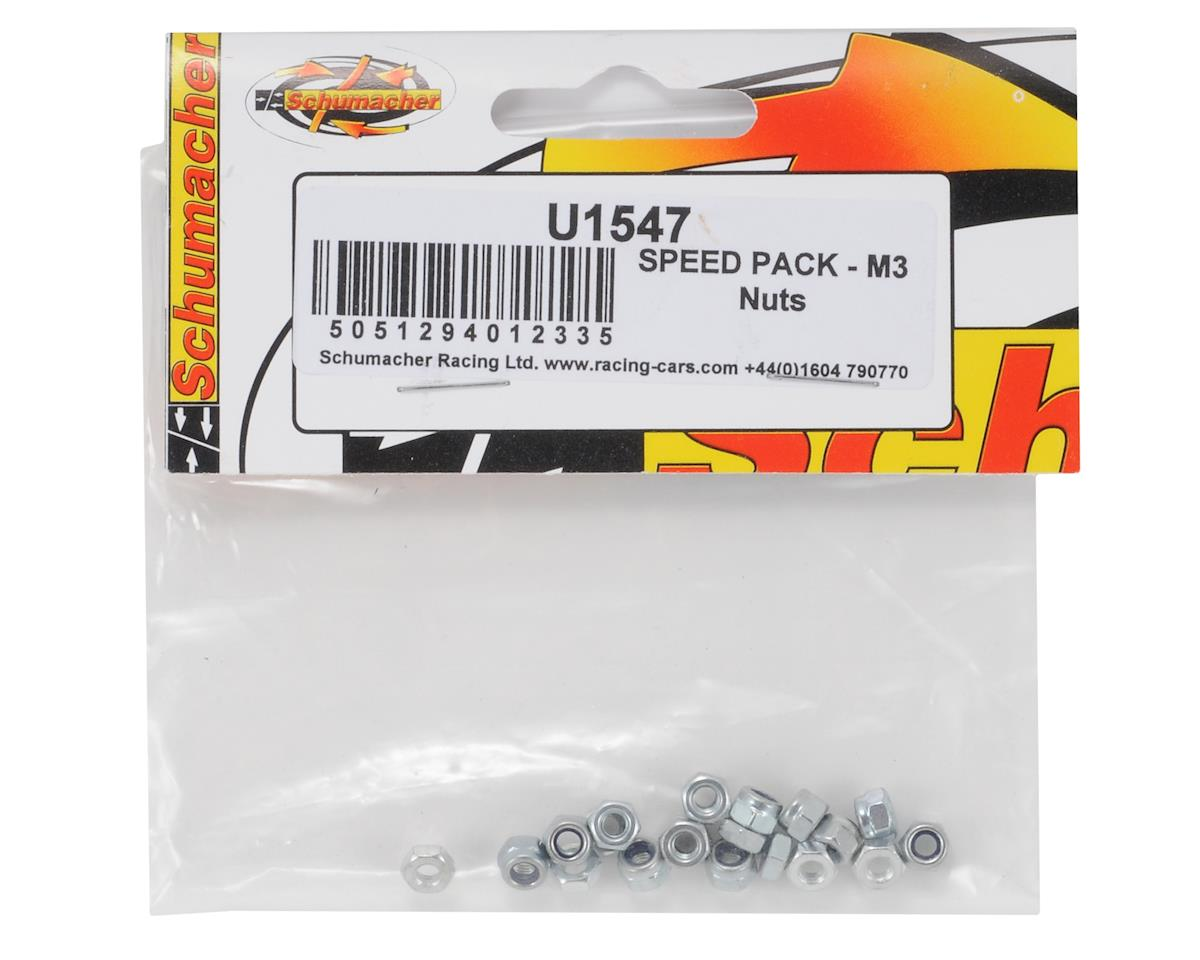 Schumacher 3mm Nut Speed Pack