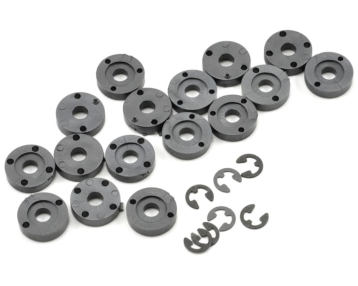 One Piece Shock Piston Set (16) by Schumacher