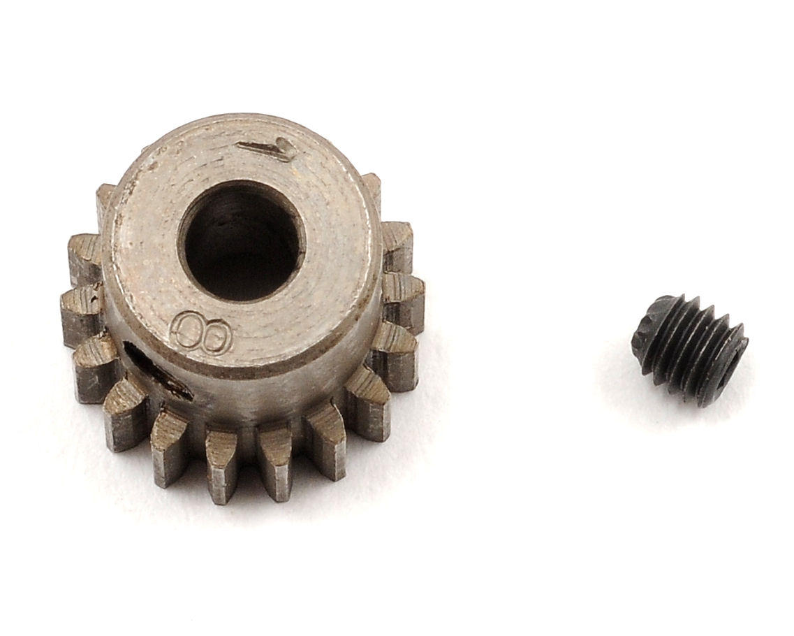 Schumacher 48P Steel Pinion Gear (3.17mm Bore) (18T)
