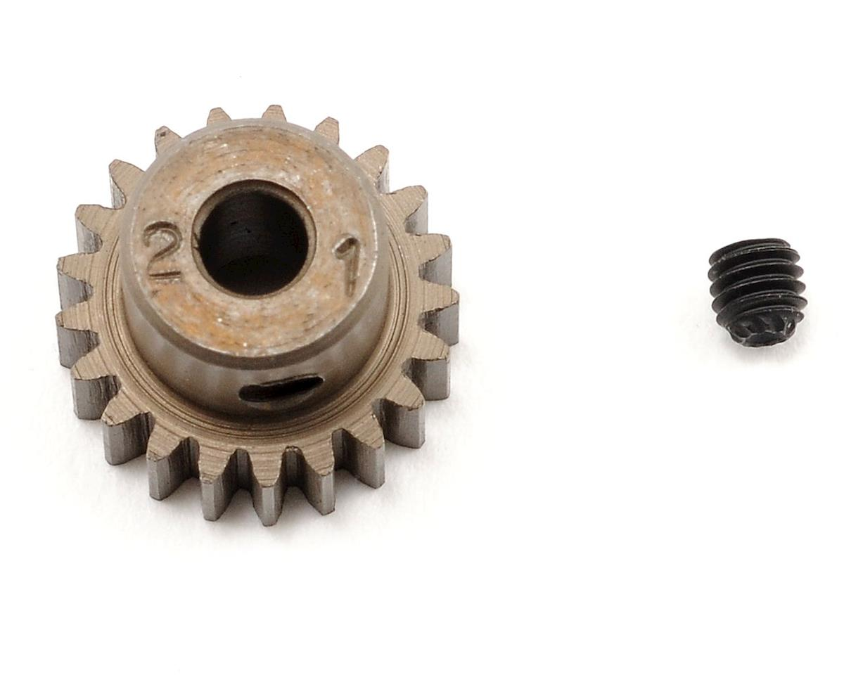 Schumacher 48P Steel Pinion Gear (3.17mm Bore) (21T)