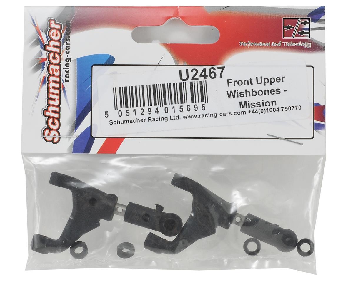 Schumacher Front Upper Wishbone Set (2)