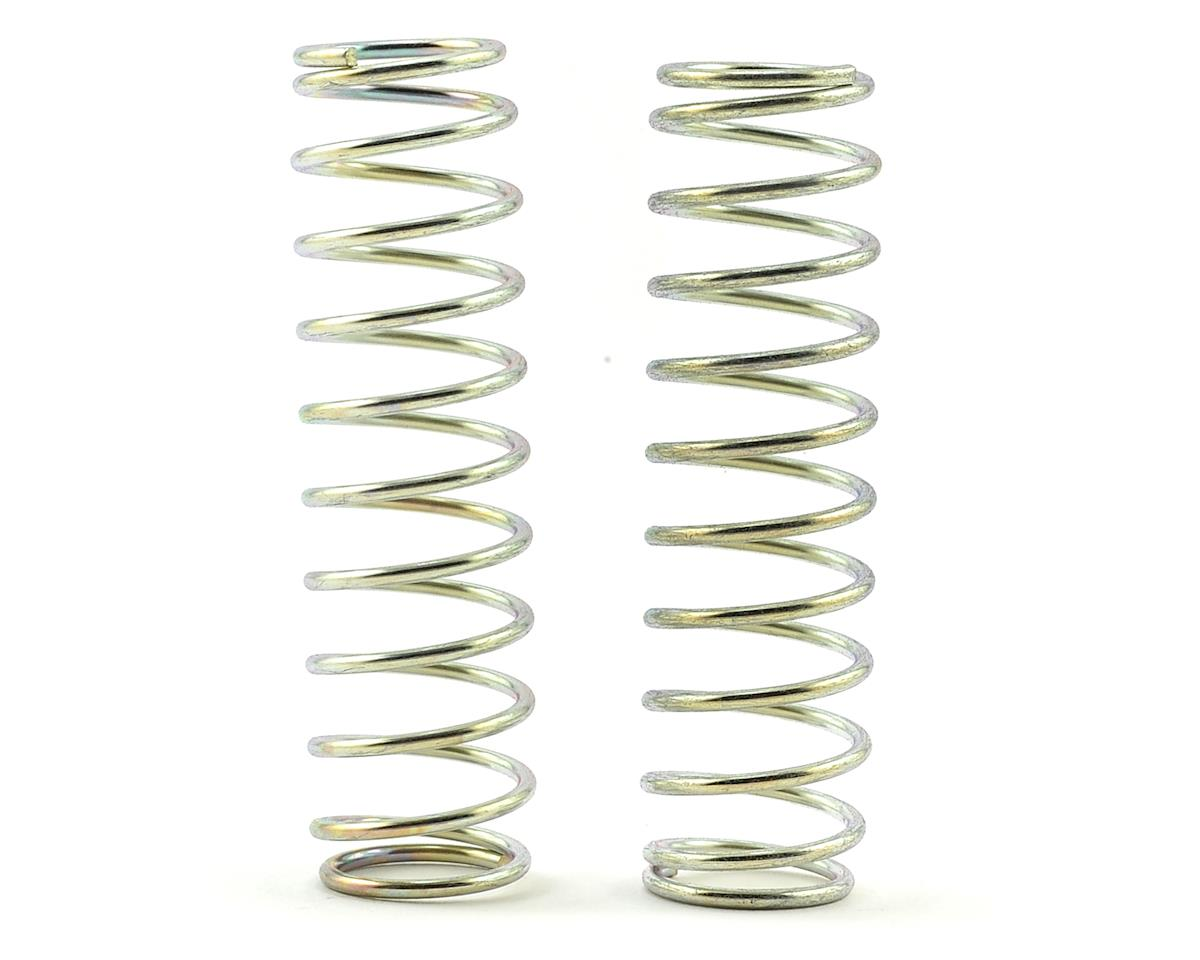 CAT XLS Rear Shock Spring (2) (Silver - Long 6lb) by Schumacher