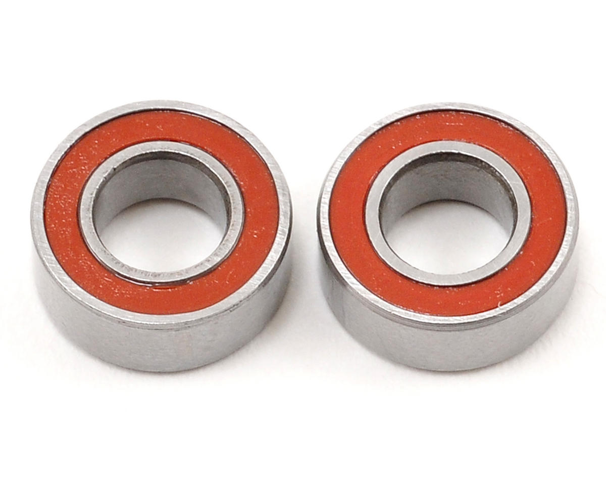 4x8x3mm Red Seal Ball Bearing Set (2) by Schumacher
