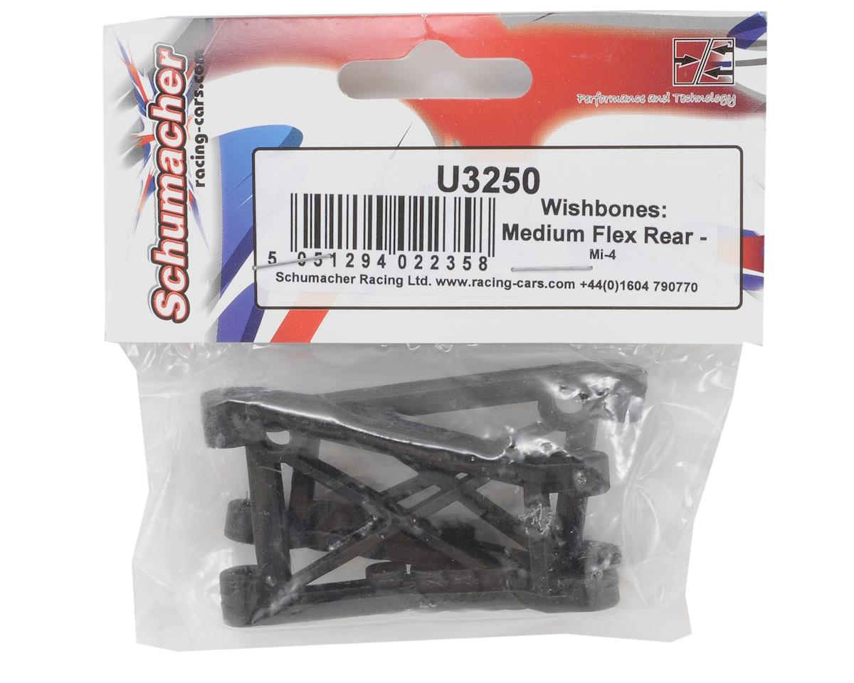 Schumacher Medium Flex Rear Wishbone Set (2)