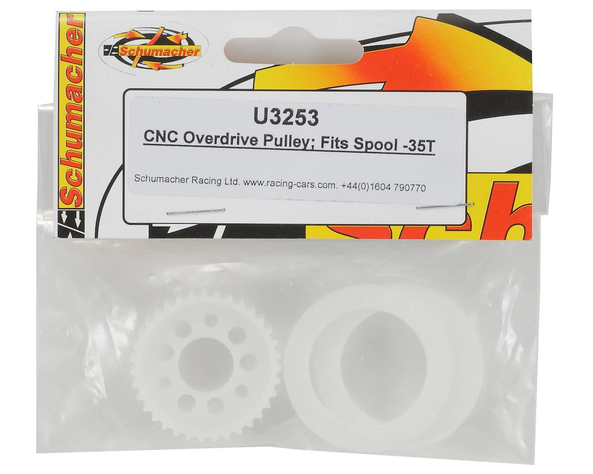 Schumacher CNC 35T Overdrive Pulley (Spool)