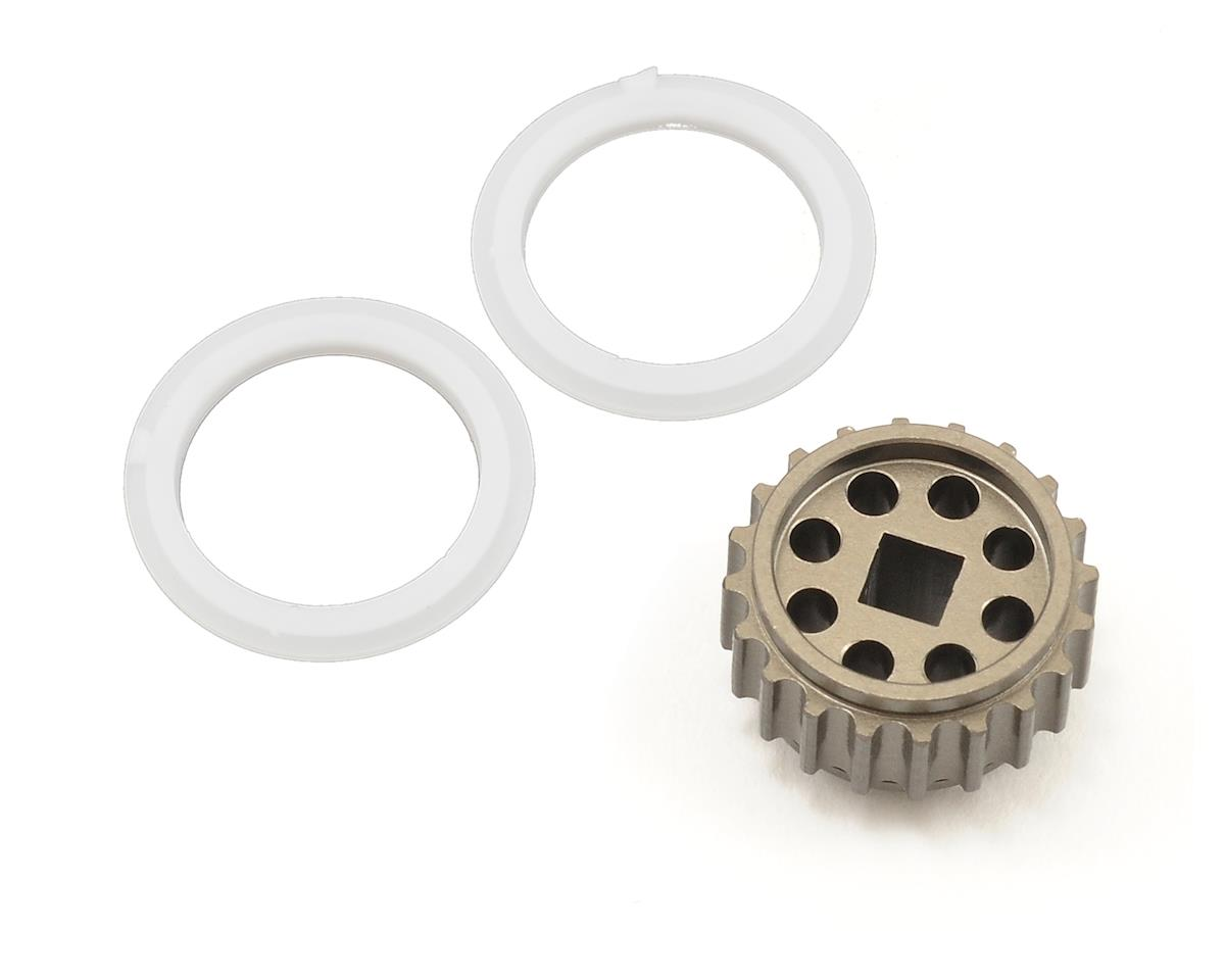 Schumacher 6mm 20T CNC Aluminum Pulley Gear