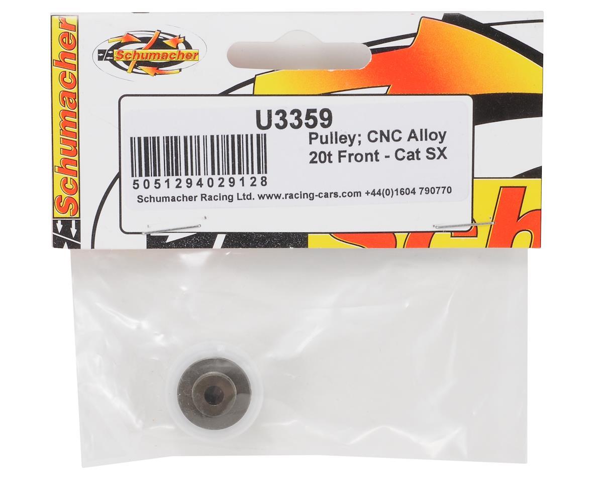 Schumacher 20T CNC Aluminum Front Pulley