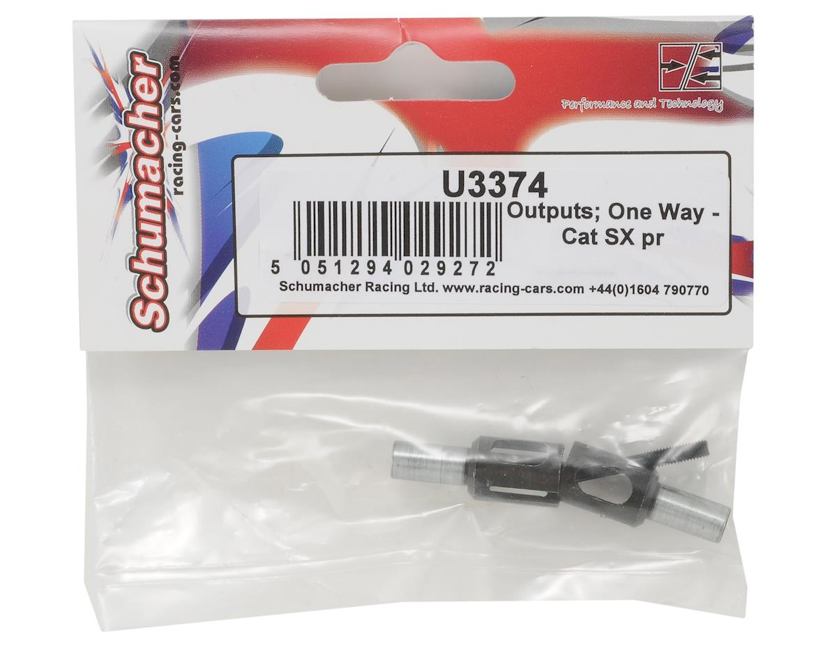 Schumacher One Way Outdrive Set (2)