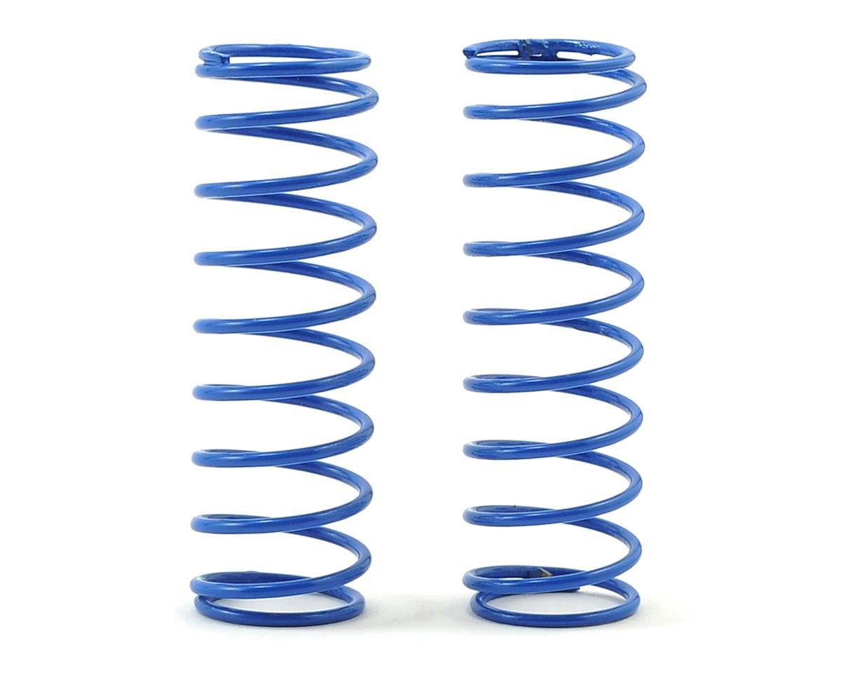 CAT XLS Rear Shock Spring (2) (Blue -Long 3.5lb) by Schumacher