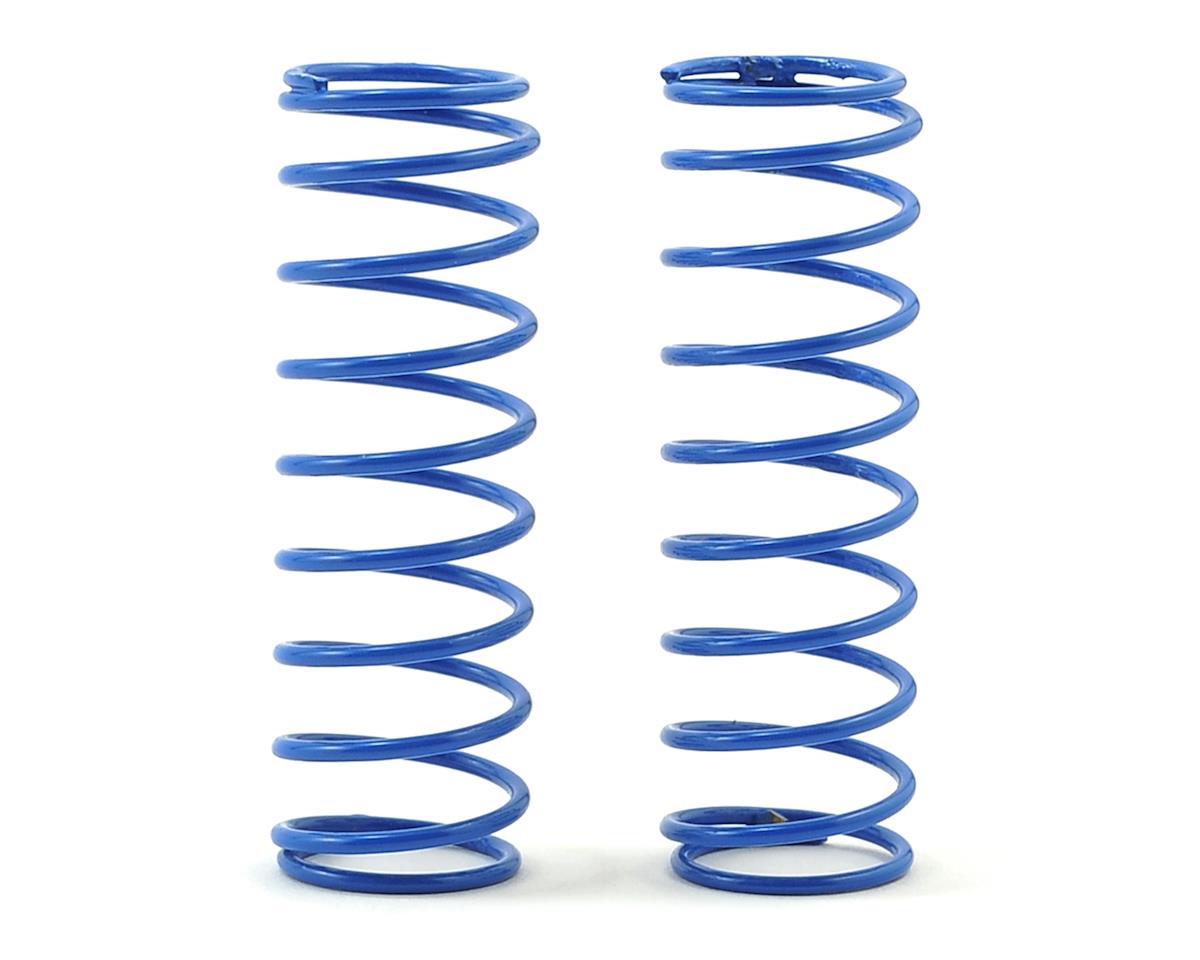 Schumacher CAT XLS Rear Shock Spring (2) (Blue -Long 3.5lb)
