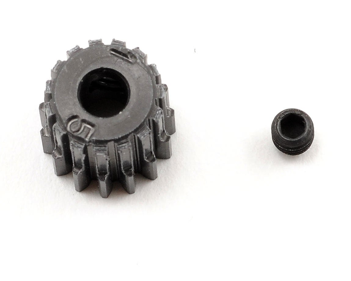 48P Hard Anodized Aluminum Pinion Gear (3.17mm Bore) by Schumacher