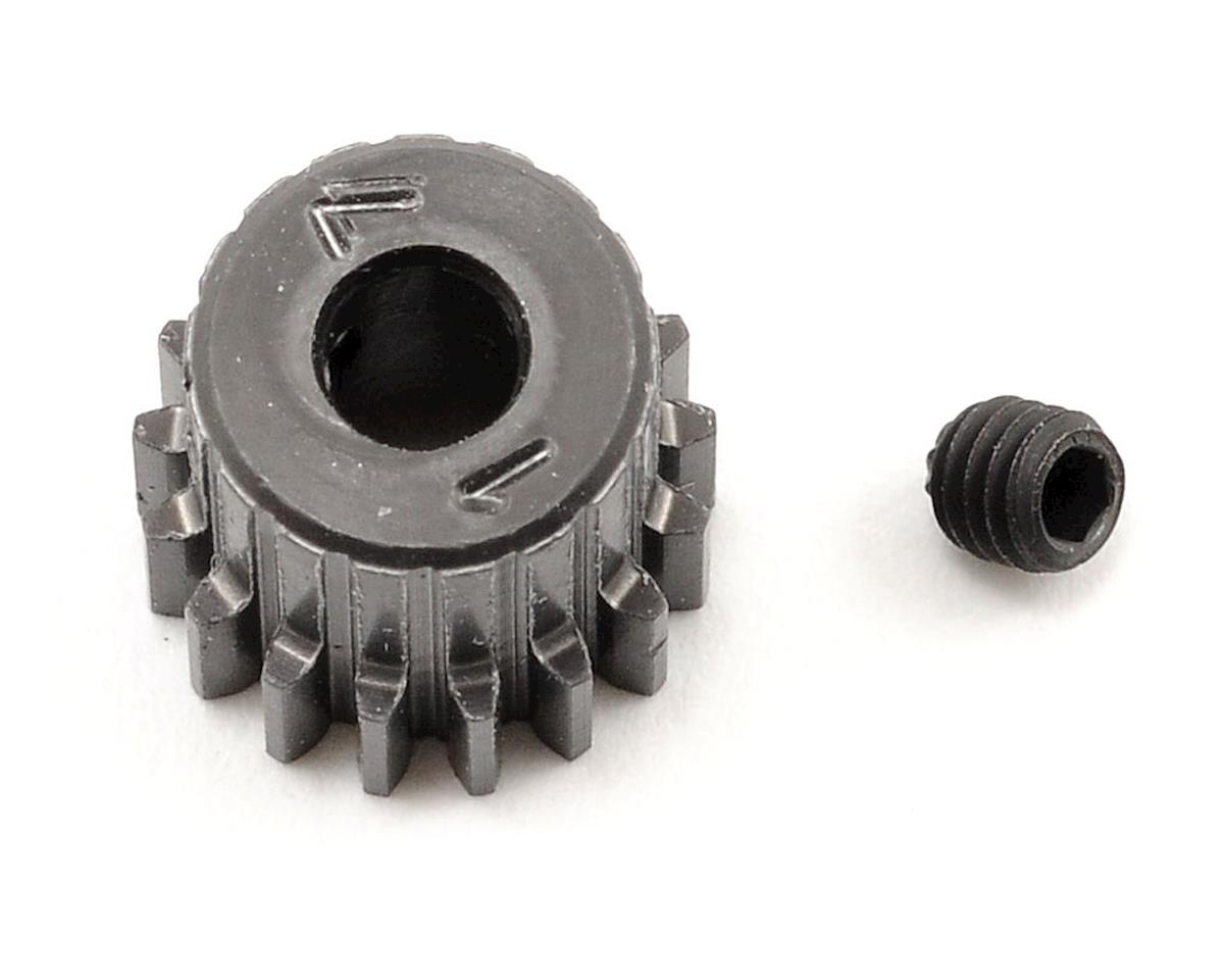 Schumacher 48P Hard Anodized Aluminum Pinion Gear (3.17mm Bore) (17T)