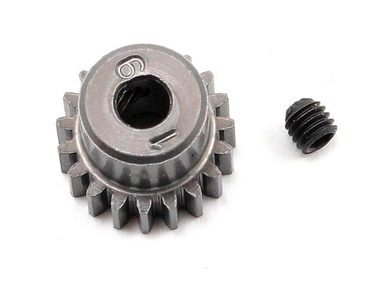 48P Hard Anodized Aluminum Pinion Gear (3.17mm Bore) (19T) by Schumacher