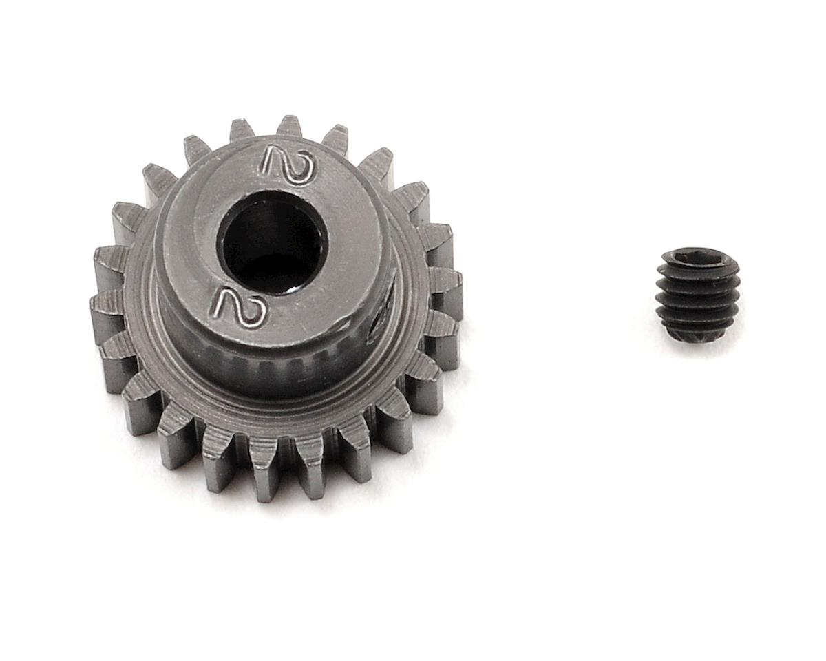Schumacher 48P Hard Anodized Aluminum Pinion Gear (3.17mm Bore) (22T)