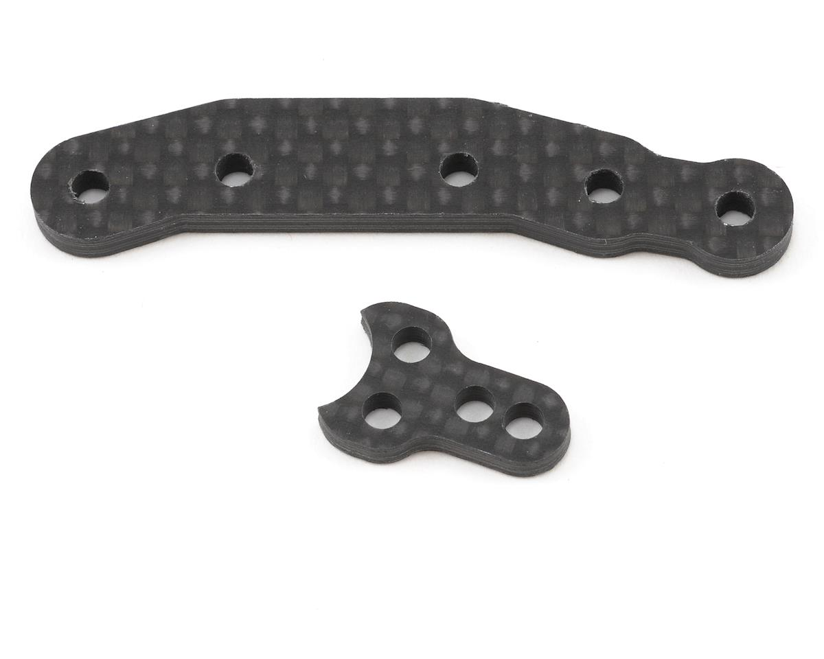 Schumacher Carbon Fiber Steering Mount & Arm Set