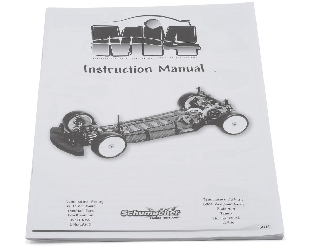 Schumacher Mi4 Instruction Manual