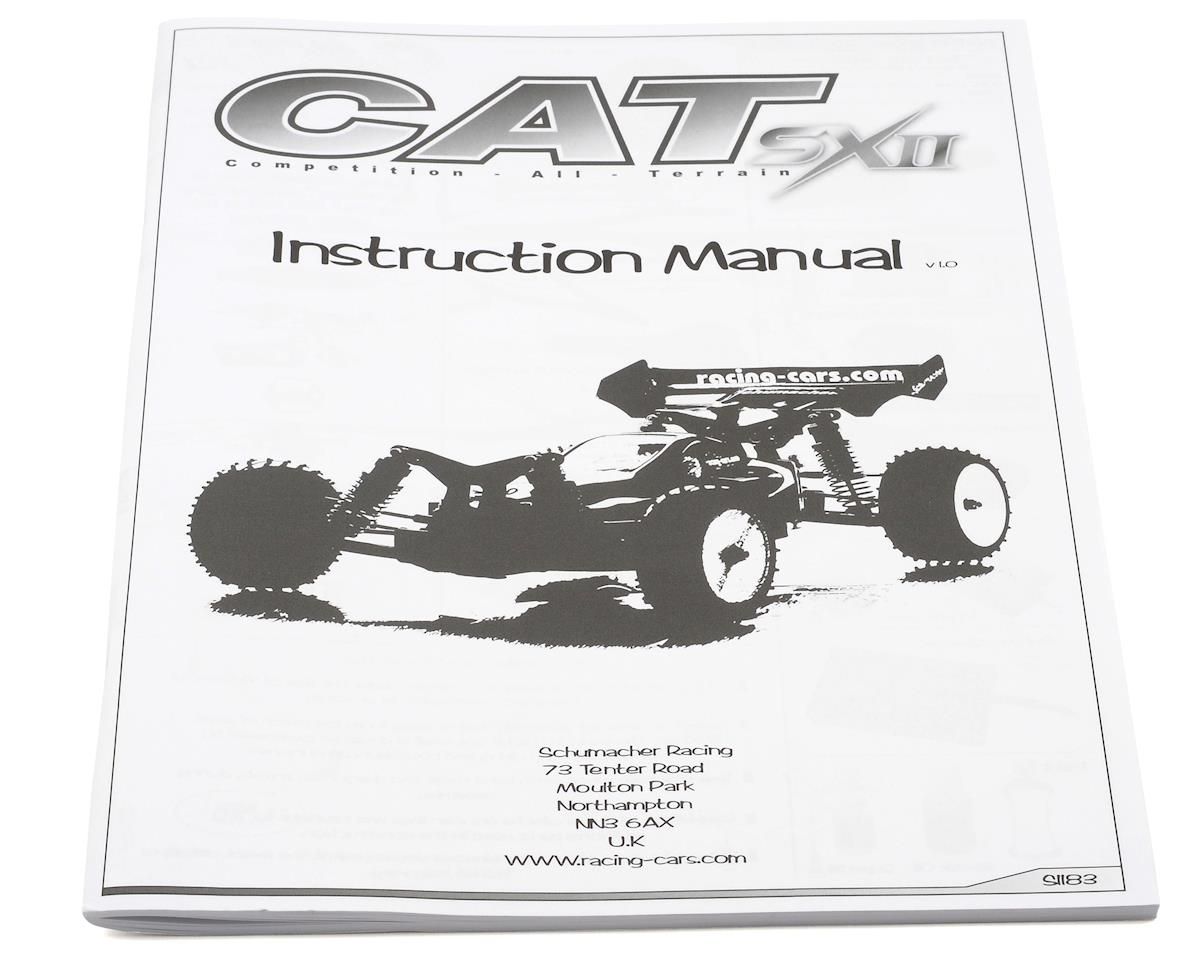 Schumacher Cat SX2 Manual