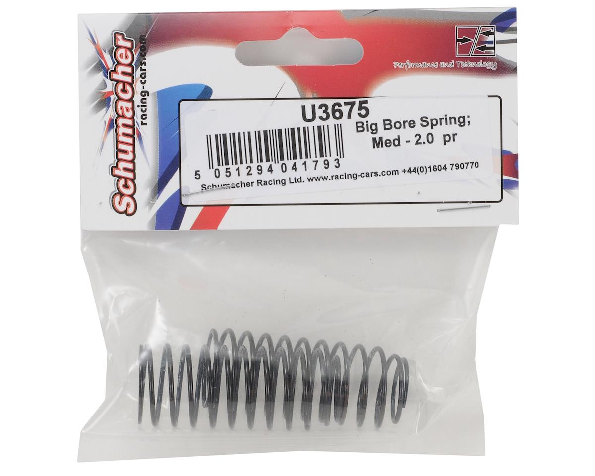 Schumacher Medium Length Big Bore Shock Spring (2.0/Extra Soft) (2)