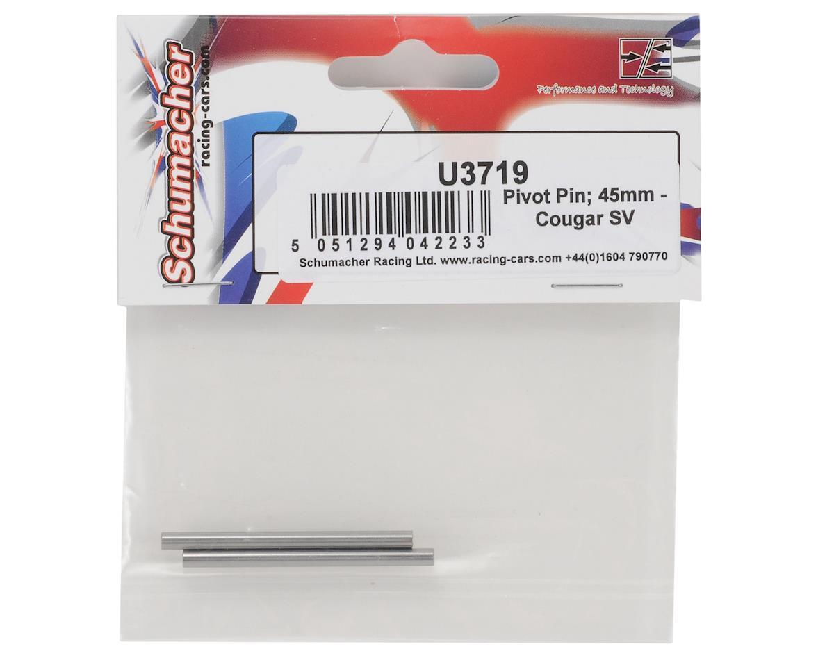 2 SCHU3719 Schumacher 45mm Rear Inner Hinge Pin