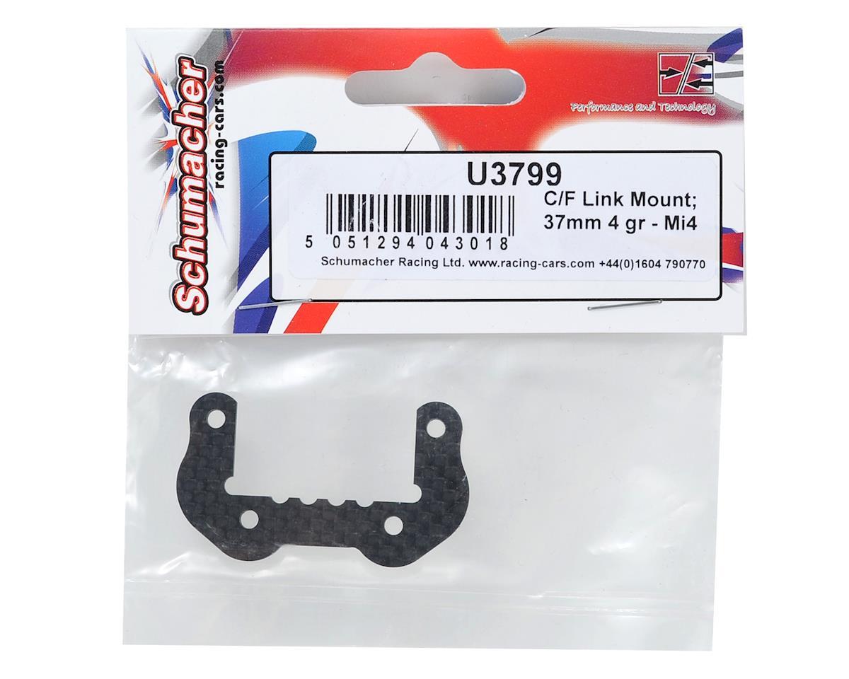 Schumacher Carbon Fiber 37mm 4 Groove Link Mount
