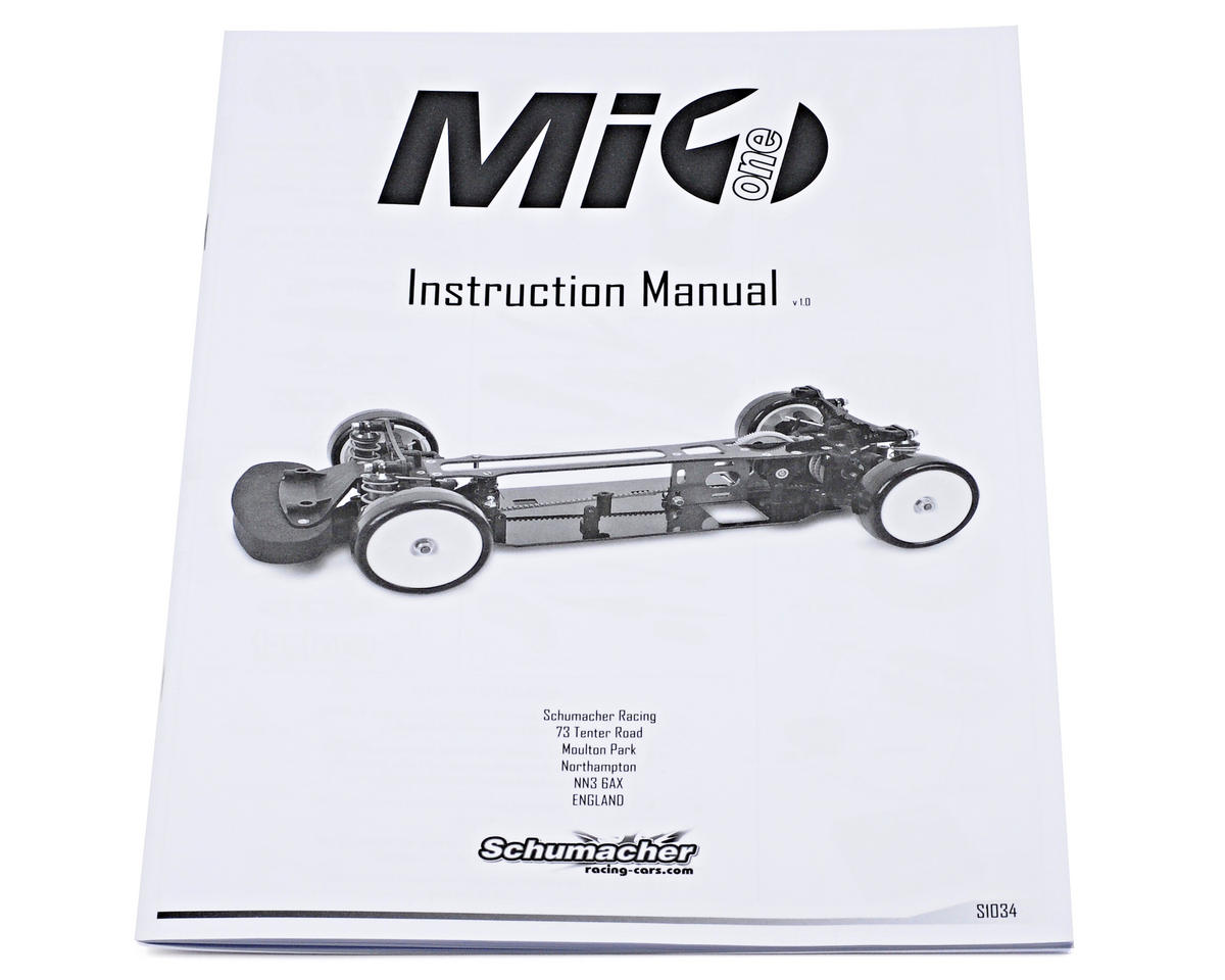 Schumacher Mi1 Instruction Manual