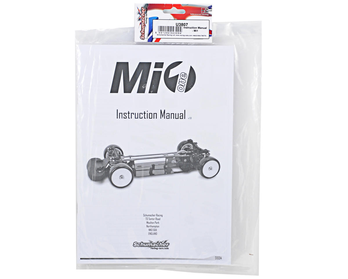 Mi1 Instruction Manual by Schumacher