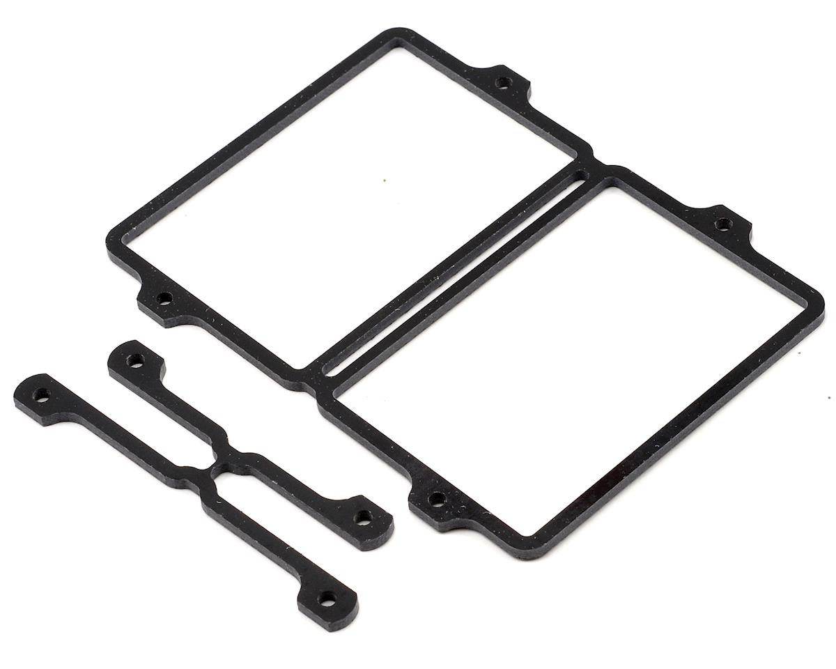Schumacher S1 Saddle Pack LiPo Tray & Spacer Set