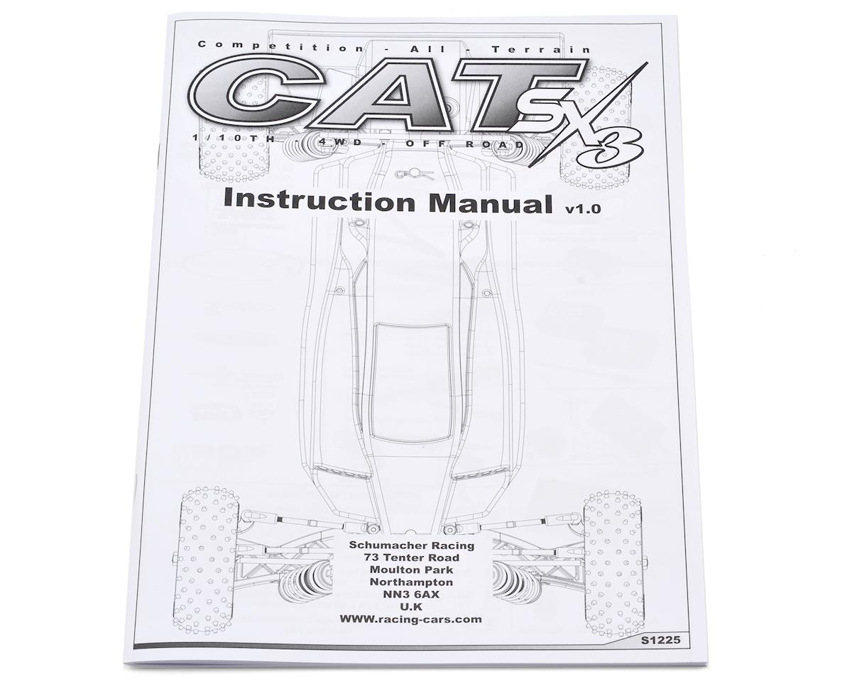 Schumacher Cat SX3 Instruction Manual