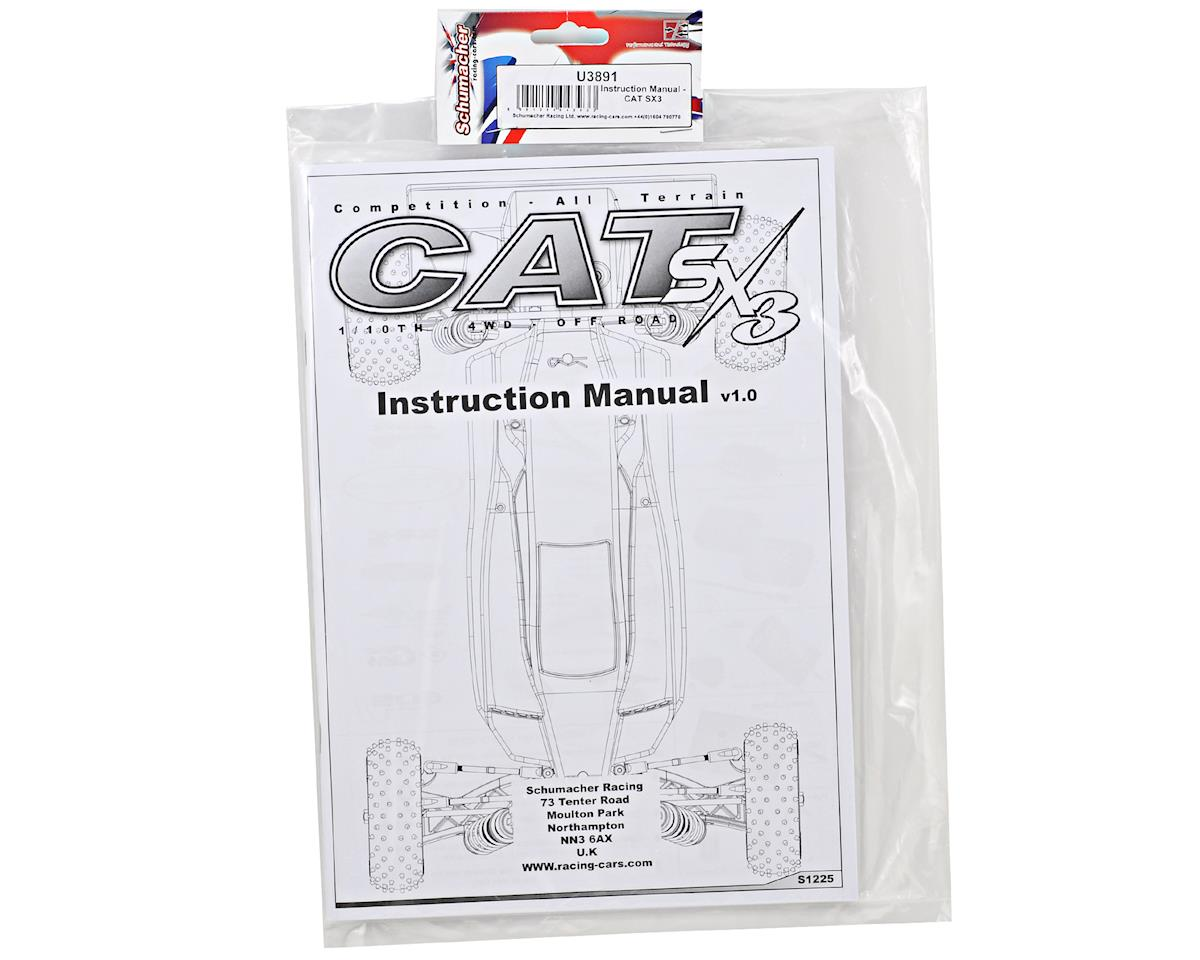 Cat SX3 Instruction Manual by Schumacher