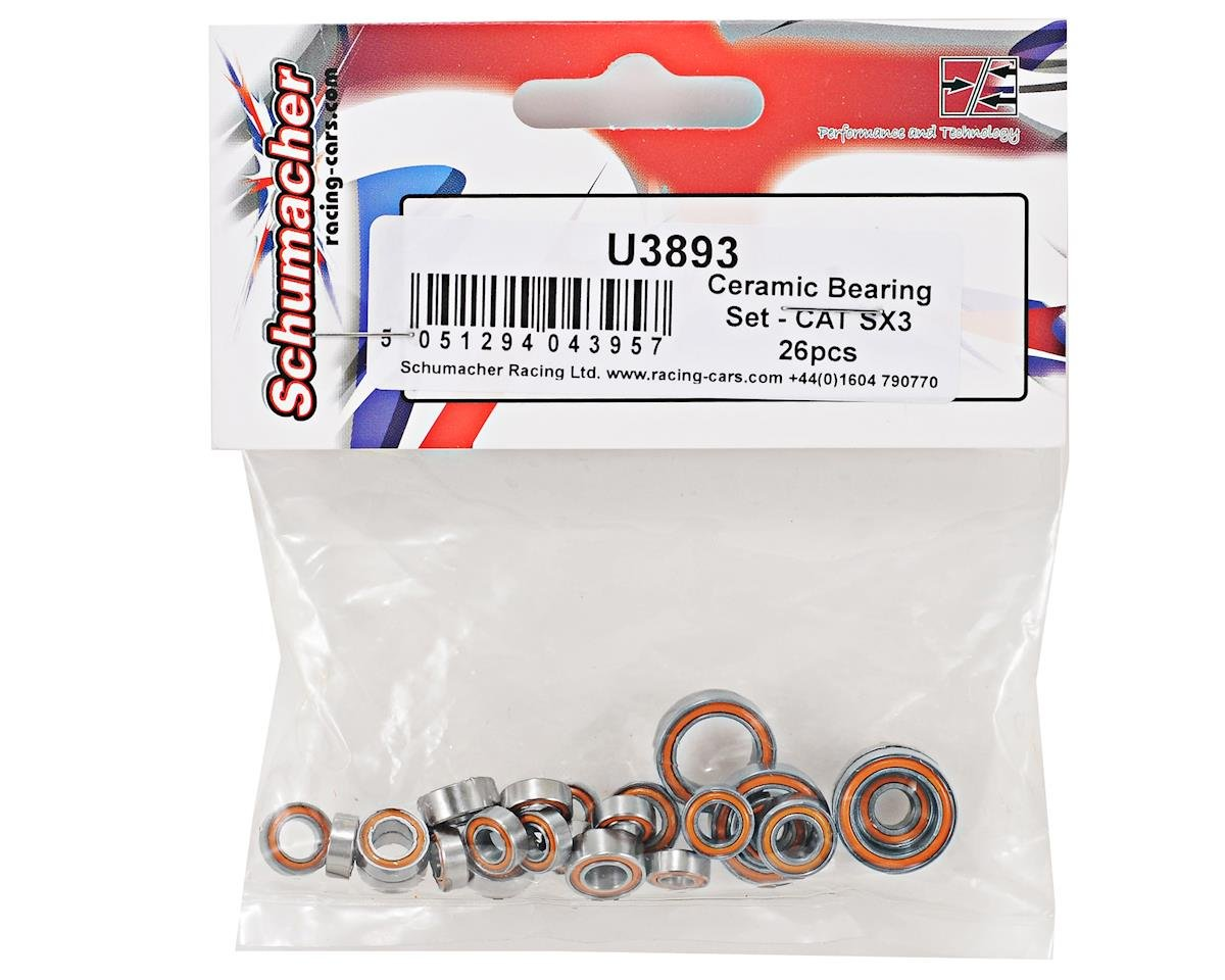Schumacher Cat SX3 Ceramic Bearing Set (26)