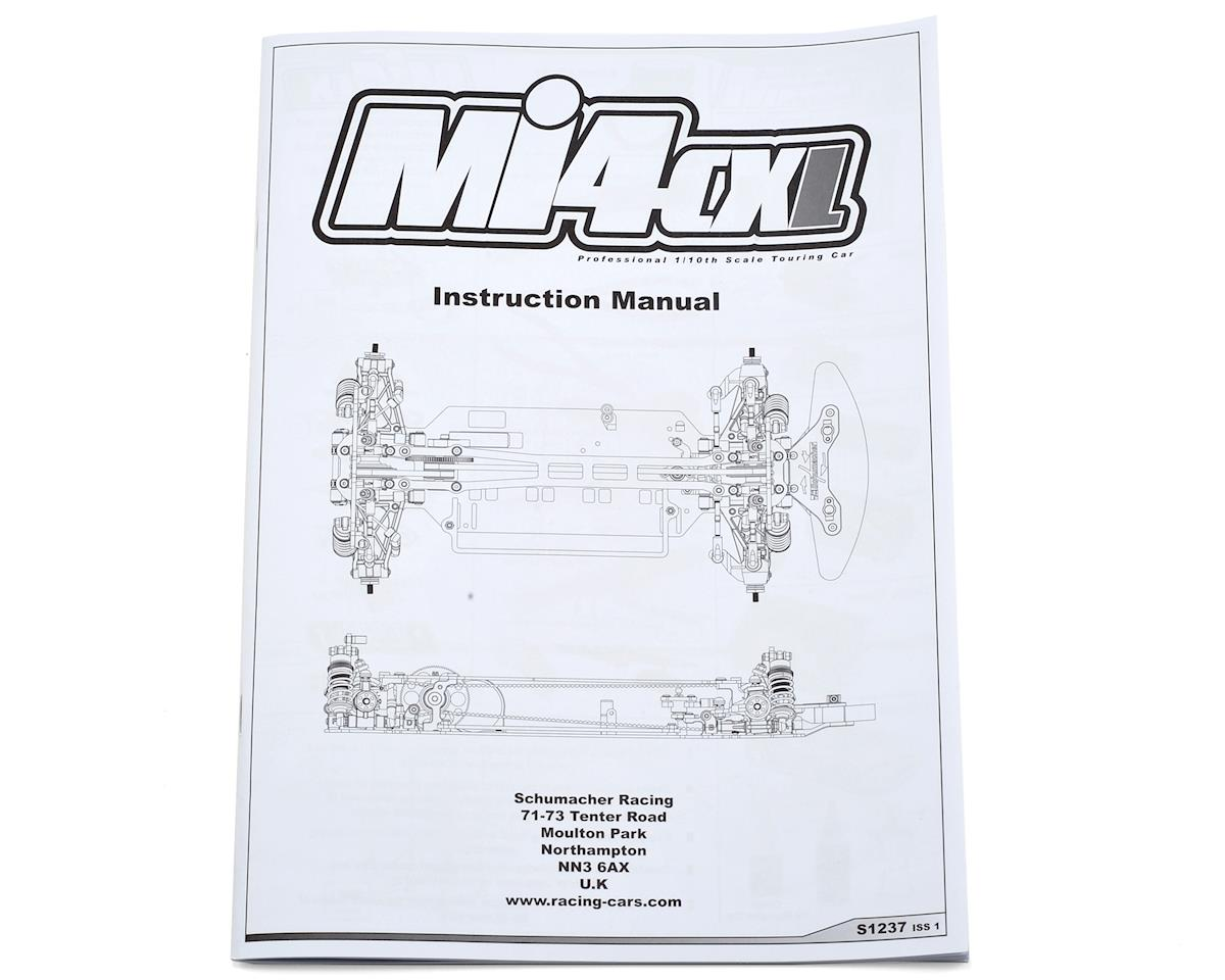 Schumacher Mi4CXL Instruction Manual
