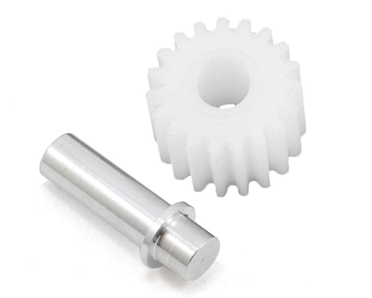 Idler Gear & Shaft Set by Schumacher