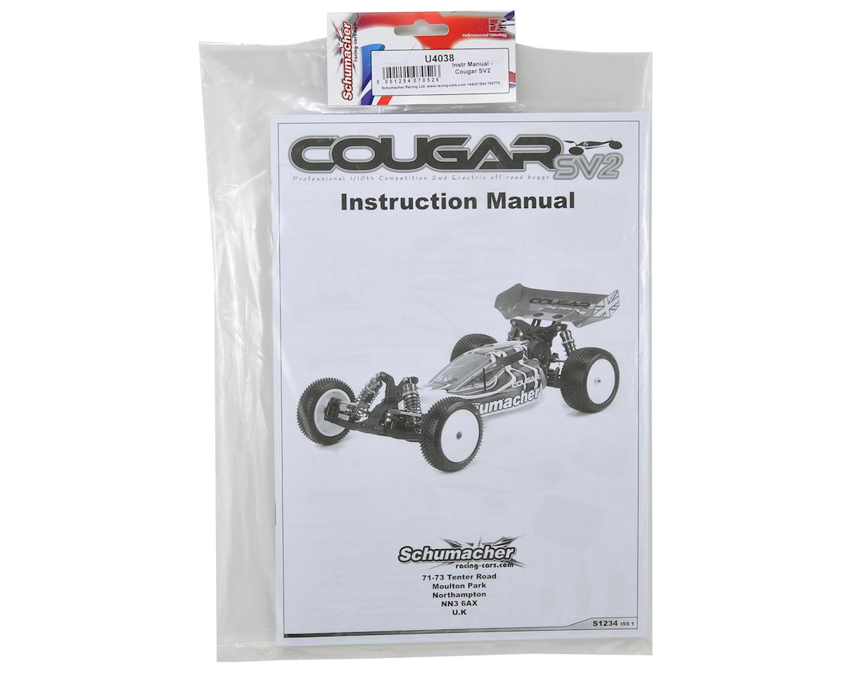 Schumacher Cougar SV2 Instruction Manual