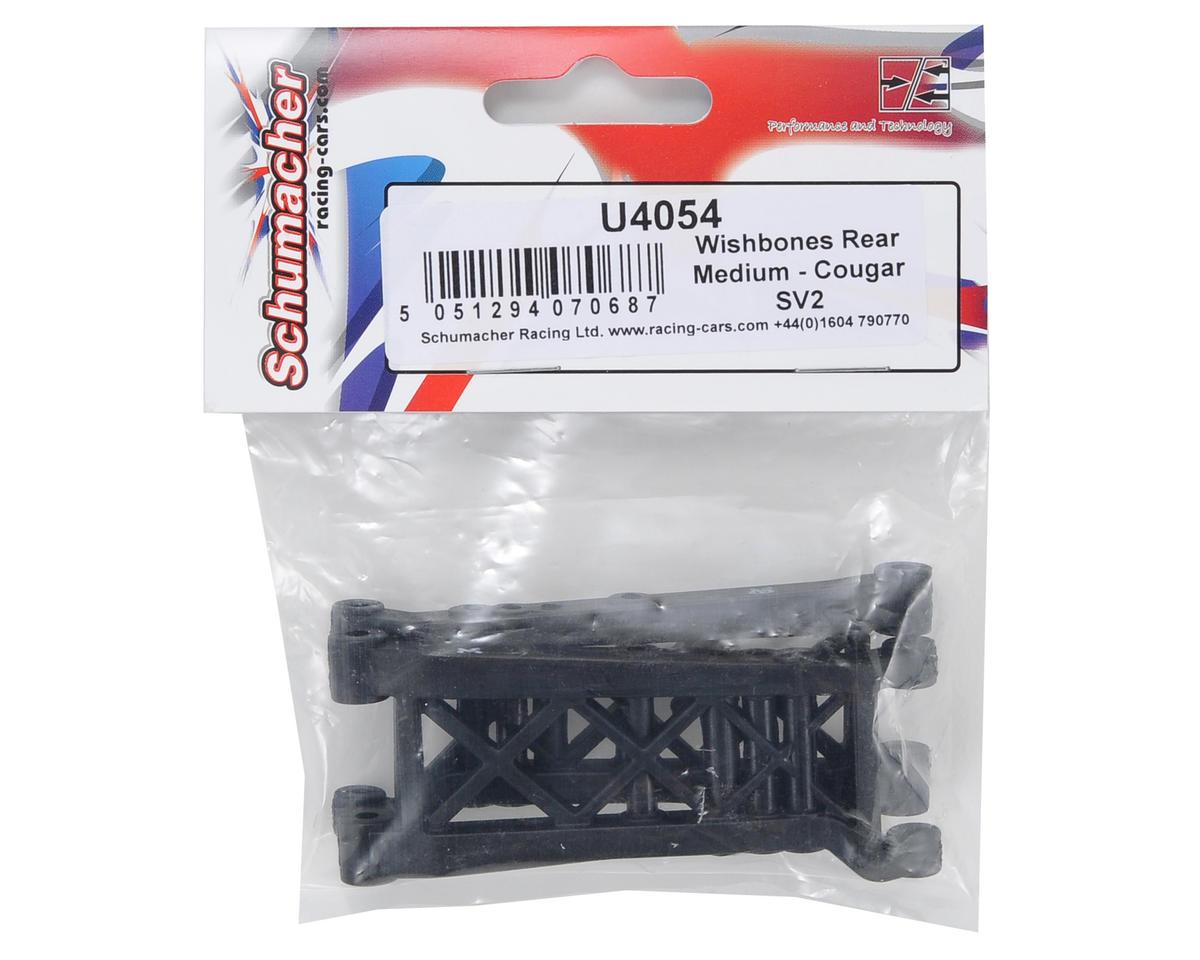Schumacher Medium Flex Rear Wishbone Set (2)